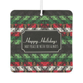 Custom Holidays Ugly Sweater Car Air Freshener