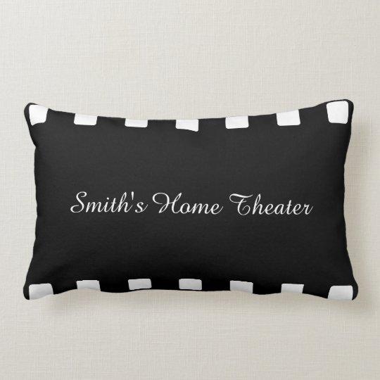 Custom Home Theatre Pillow