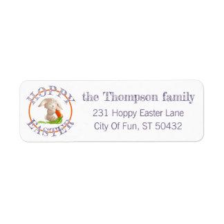Custom Hoppy Easter Bunny Pattern