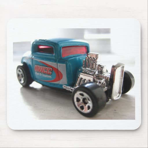 Custom Hot Rod Toy Mouse Pad