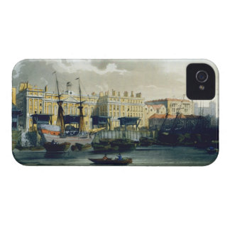 Custom House from the River Thames, from Ackermann Case-Mate iPhone 4 Cases