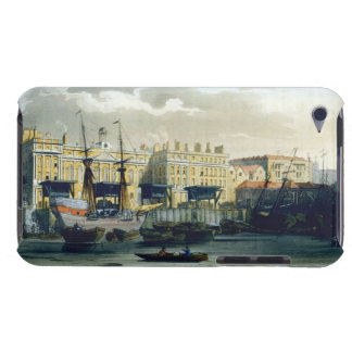 Custom House from the River Thames, from Ackermann iPod Case-Mate Cases