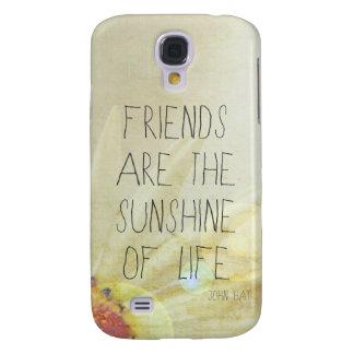 Custom HTC Vivid Cases...Sunshine & Friendship Galaxy S4 Case