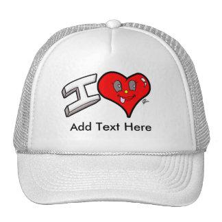 "Custom ""I Love"" Hat"