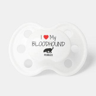 Custom I Love My Bloodhound Dummy