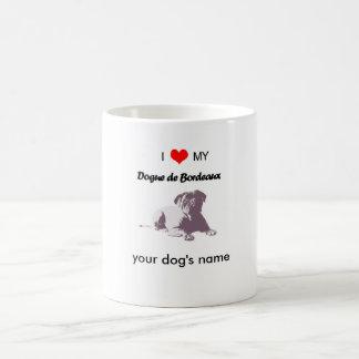 Custom I love my Dogue de Bordeaux Coffee Mug