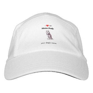 Custom I love my Siberian Husky hat