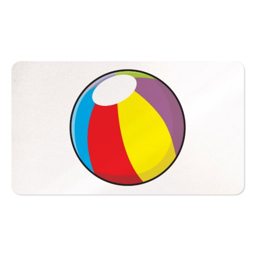 Custom Inflatable Plastic Beach Ball Pillows Pins Business Cards