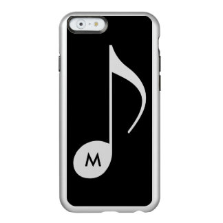 custom initial on musical note incipio feather® shine iPhone 6 case
