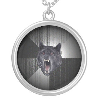 Custom Insanity Wolf Necklace