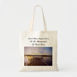Custom Inspirational Grocery Tote