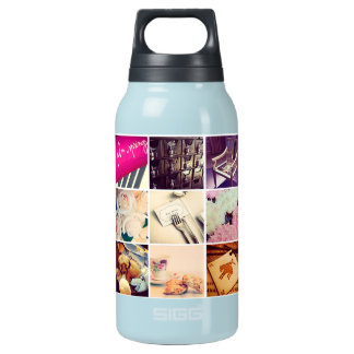 Custom Instagram Photo Collage Bottle