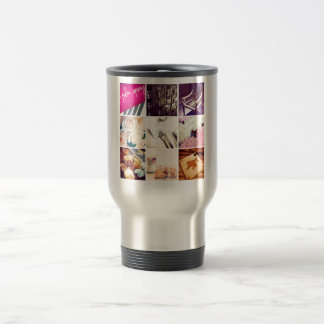 Custom Instagram Photo Collage Travel Commuter Mug