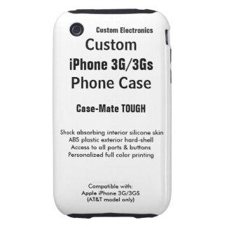 Custom iPhone 3G / 3Gs Tough Phone Case iPhone 3 Tough Cases