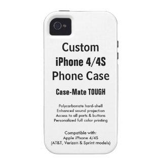Custom iPhone 4 / 4S Tough Phone Case iPhone 4/4S Cases
