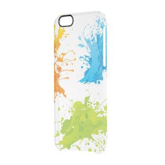 Custom iPhone 6/6s splash design Clear iPhone 6/6S Case