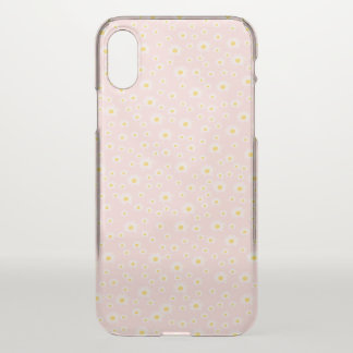 Custom, iPhone, Clearly, yellow, kammillenblüte, iPhone X Case