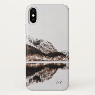 Custom iPhone X CaseMate Case | Mountains