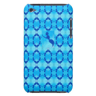 Custom iPod Touch 4th Generation Bee Pattern Case Barely There iPod Covers