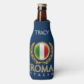 Custom Italian Flag Bottle Cooler