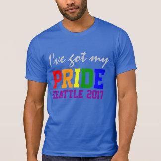 Custom  I've Got my Pride Seattle Gay Pride T-Shirt