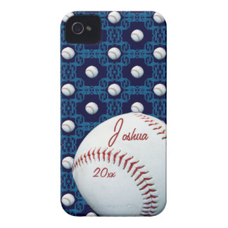 Custom Joshua Baseball Motif Iphone 4/4S Case