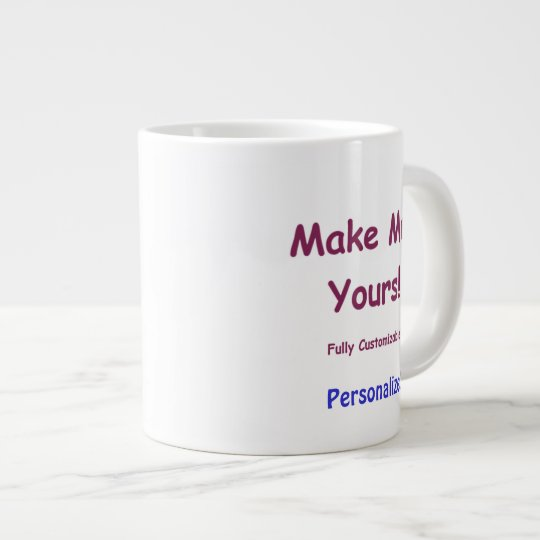Custom Jumbo Ceramic Mug to Personalise 20oz