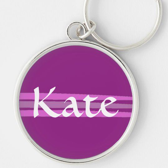 Custom Kate Key Ring