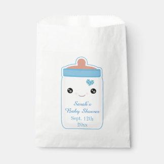 Custom Kawaii Bottle Baby Boy Favor Bag Favour Bags