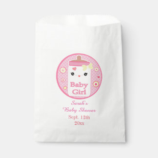 Custom Kawaii Bottle Baby Girl Favor Bag Favour Bags