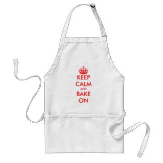 Custom Keep Calm apron   Customizable template