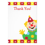 Custom Kids Clown Thank You