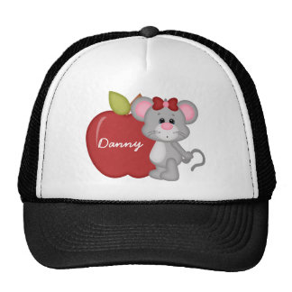 Custom Kids Mouse School Hat