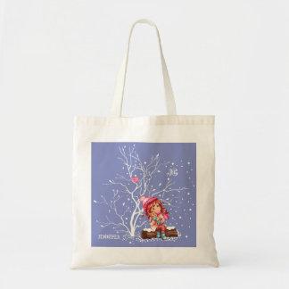 Custom Kid's Name Fun Christmas Gift Bags