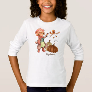Custom Kid's Name Thanksgiving Gift T-Shirts