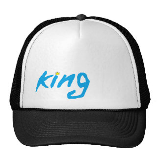 custom KING hat