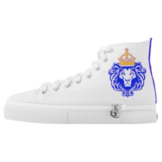 Custom King Leo High Tops Printed Shoes