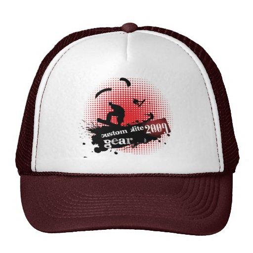 Custom Kite Gear Cap Mesh Hat