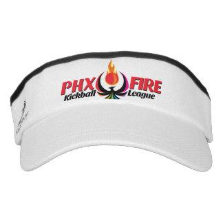 Custom Knit Visor (Phoenix Fire)
