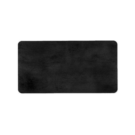 Custom Label - Chalkboard