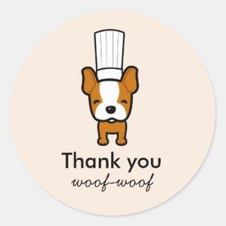 Custom Labels for Pet Dog Baked Treats Bakery