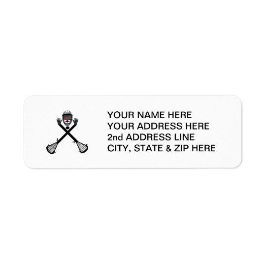 Custom Lacrosse Player