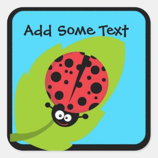 Custom Ladybug Stickers