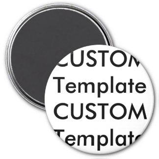 "Custom Large 3"" Round Magnet"