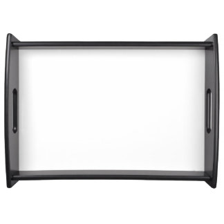 Custom Large Serving Tray (Black)