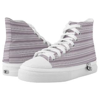 Custom Lavender Summer High Top Shoes