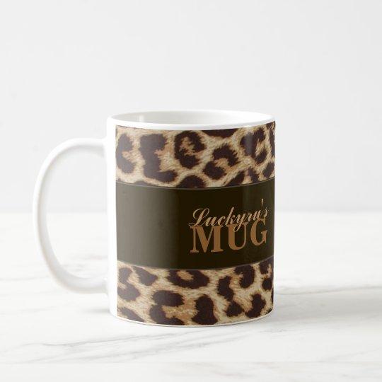 Custom Leopard Print Mug