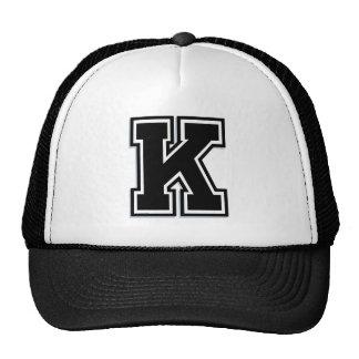 """Custom Letter """"K"""" Design Cap"""