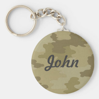 Custom Light Camouflage Key Chain