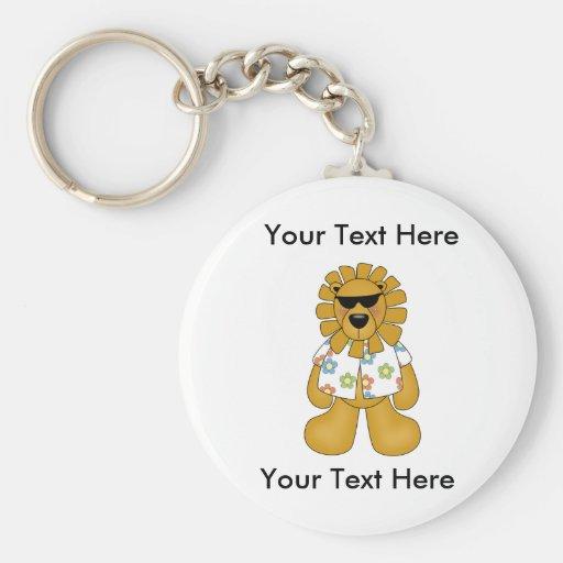 Custom Lion Dude Keychain